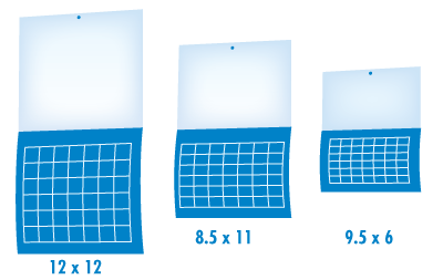 Calendar Example Sizes Offset Printing